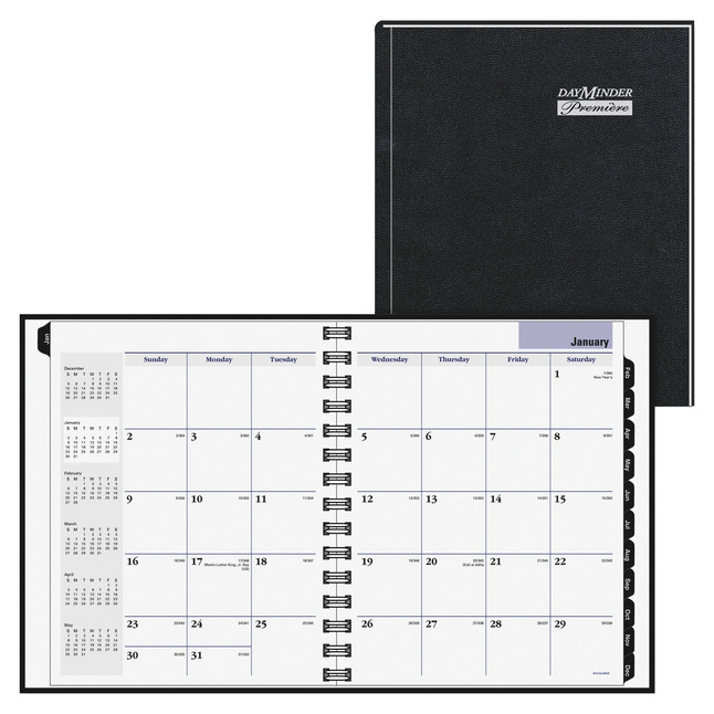 Daily Planner and Calendars, Item Number 1108622