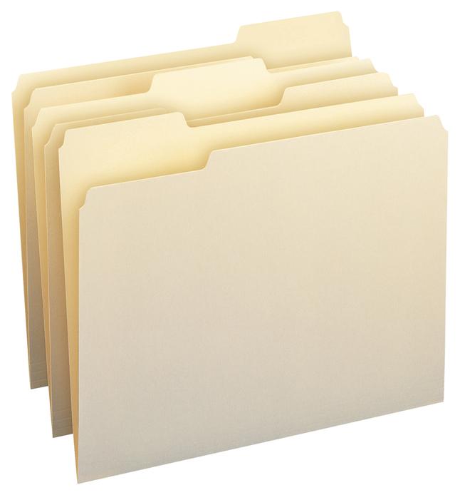Top Tab File Folders, Item Number 1114682