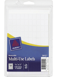General Labels, Item Number 1117981