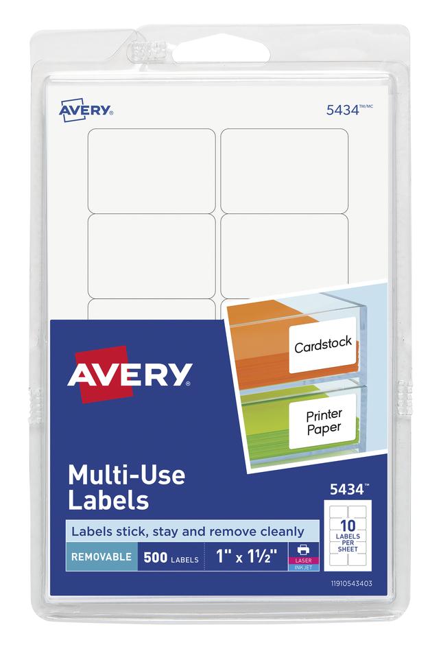 General Labels, Item Number 1117988