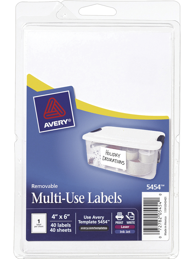 General Labels, Item Number 1117995