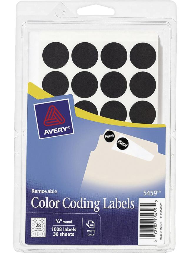 General Labels, Item Number 1117996