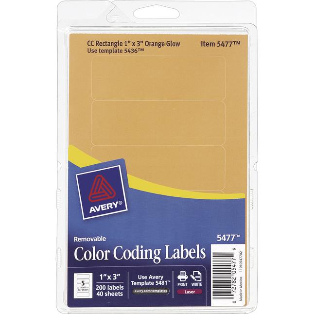 General Labels, Item Number 1118010