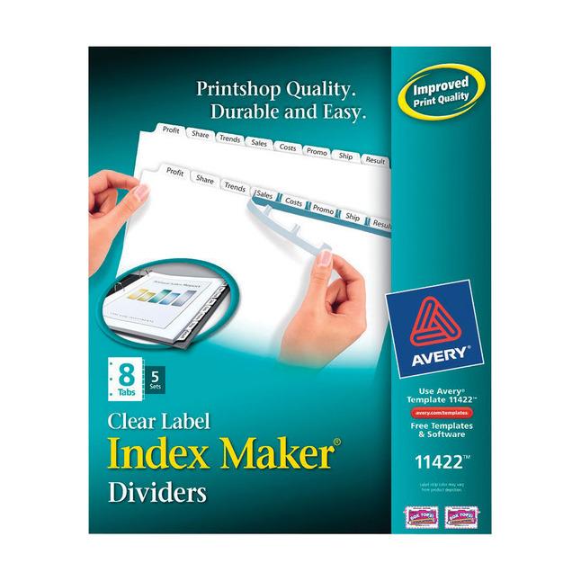 Tab Dividers, Item Number 1118158