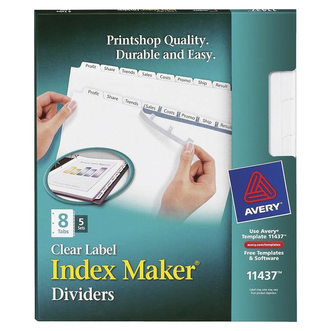 Tab Dividers, Item Number 1118164
