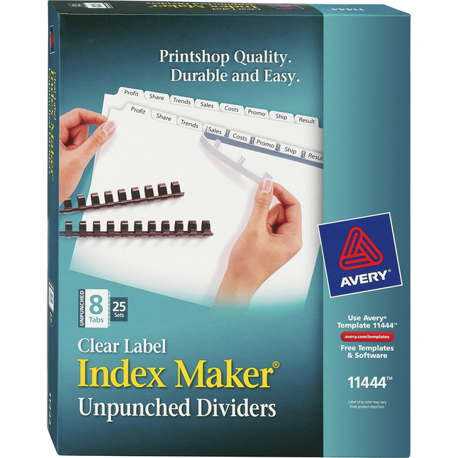 Tab Dividers, Item Number 1118167