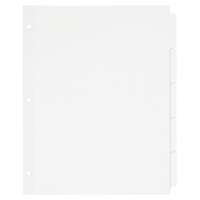 Tab Dividers, Item Number 1118176
