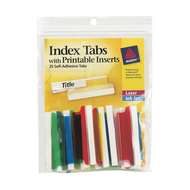 Tab Dividers, Item Number 1118214
