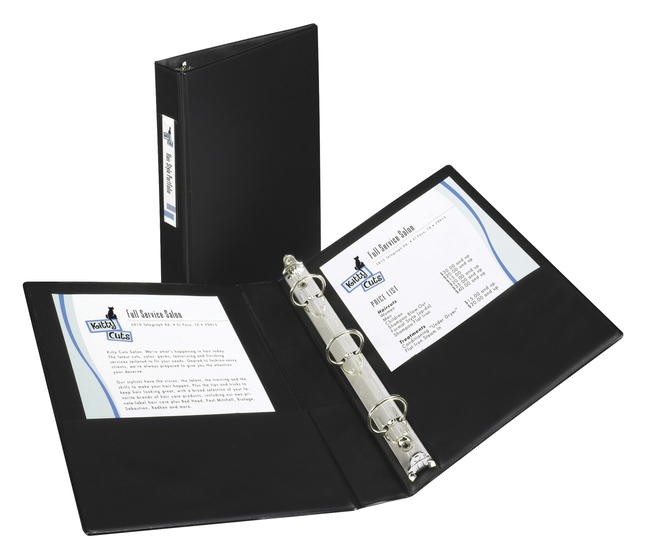 Basic Round Ring Reference Binders, Item Number 1118237