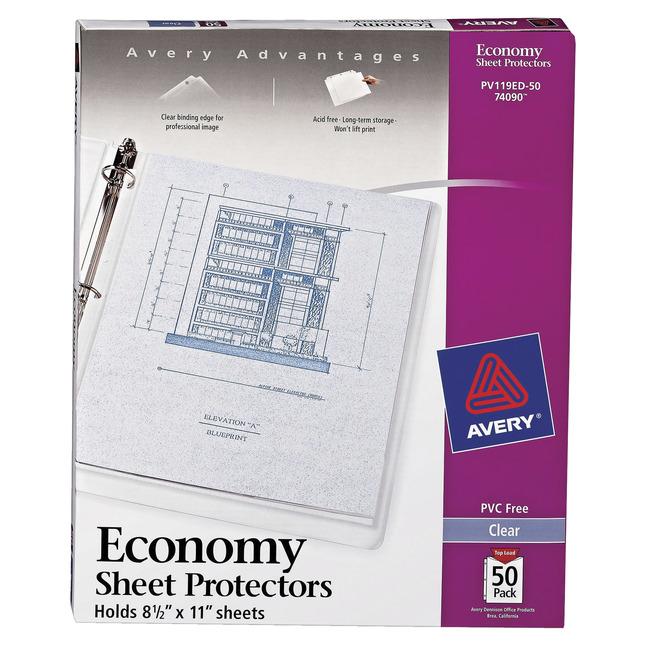 Sheet Protectors, Item Number 1118304