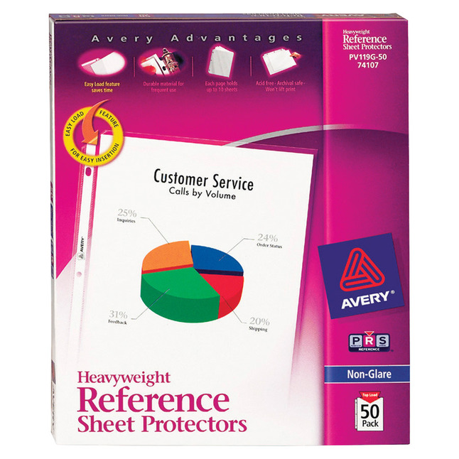 Sheet Protectors, Item Number 1118310