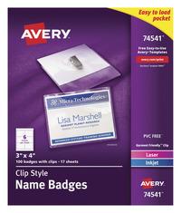 Badge Holders, Item Number 1118323