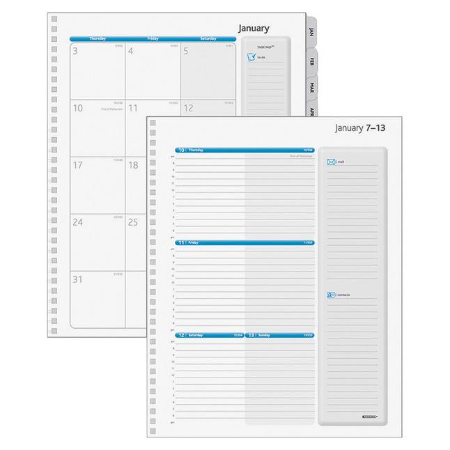 Planner Refills and Calendar Refills, Item Number 1123477
