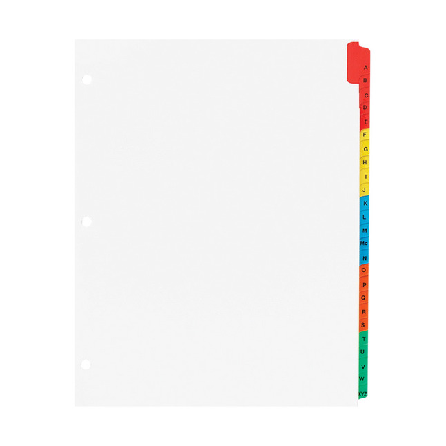 Index Dividers, Item Number 1125848