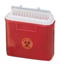 Image for Sharps Collector, 5.4 Qt from School Specialty