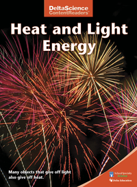 Image for Delta Science Content Readers Heat and Light Energy Red Book, Pack of 8 from School Specialty