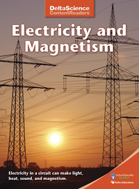 Image for Delta Science Content Readers Electricity and Magnetism Red Book, Pack of 8 from School Specialty