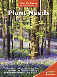 Image for Delta Science Content Readers Plant Needs Red Book, Pack of 8 from School Specialty