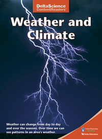Image for Delta Science Content Readers Weather and Climate Red Book, Pack of 8 from School Specialty