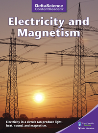 Image for Delta Science Content Readers Electricity and Magnetism Purple Book, Pack of 8 from School Specialty