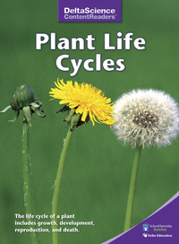 Image for Delta Science Content Readers Plant Life Cycles Purple Book, Pack of 8 from School Specialty