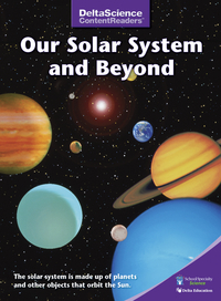 Image for Delta Science Content Readers Our Solar System Purple Book, Pack of 8 from School Specialty