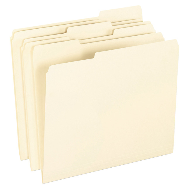 Top Tab File Folders, Item Number 1283099