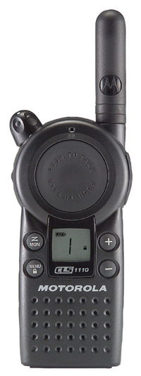 Motorola CLS1410 Two-Way Walkie Talkie Radio, 4-Channel Item Number 1283302