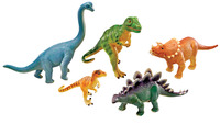 Learning Resources Assorted Jumbo Dinosaurs, Set of 5 Item Number 1290860