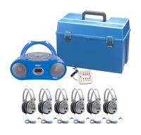 Listening Centers, Classroom Listening Center, Whisperphone Supplies, Item Number 1292911