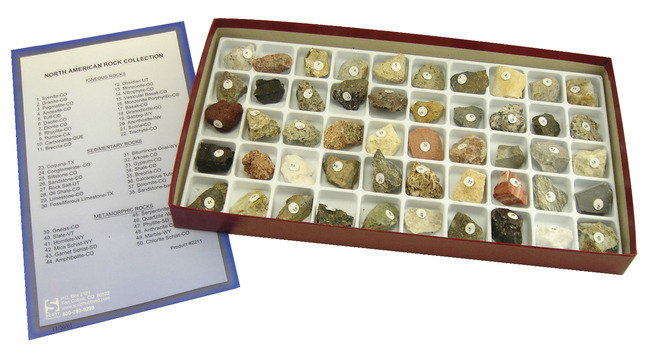 Mineral and Rock Samples, Item Number 1293003