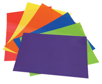 Grafix Colored Shrink Film, 8-1/2 x 11 Inches, Assorted Color, Pack of 60 Item Number 1293521