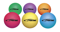 Sportime Playground Rubber Balls, Assorted Colors, Set of 6 Item Number 1293615