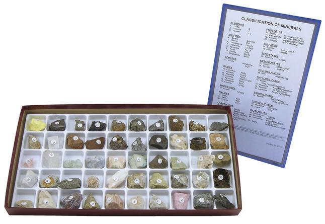 Rock & Mineral Samples, Item Number 1294899