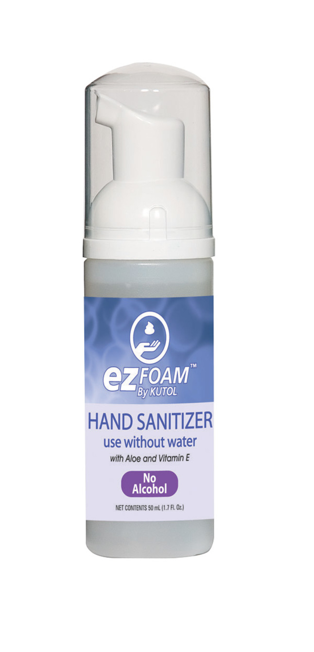 Kutol Alcohol Free Foaming Hand Sanitizer 50 Ml Soft Clean Pack