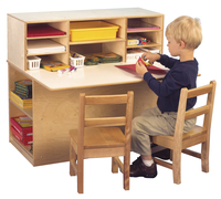 Childcraft Single-Sided Junior Writing Center, 36-1/4 x 29-1/2 x 32-1/4 Inches Item Number 1301526