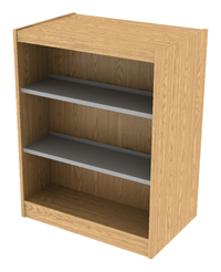 Library Shelving Wood, Item Number 1303226
