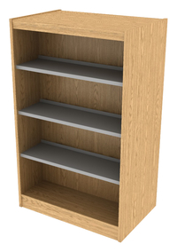 Library Shelving Wood, Item Number 1303227