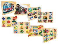 Early Childhood Chunky Puzzles, Item Number 1303437