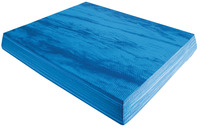 Image for Ecowise Rectangular Balance Pad, 19 x 15 x 2-3/8 Inches, Soft EVA Foam, Blue from SSIB2BStore