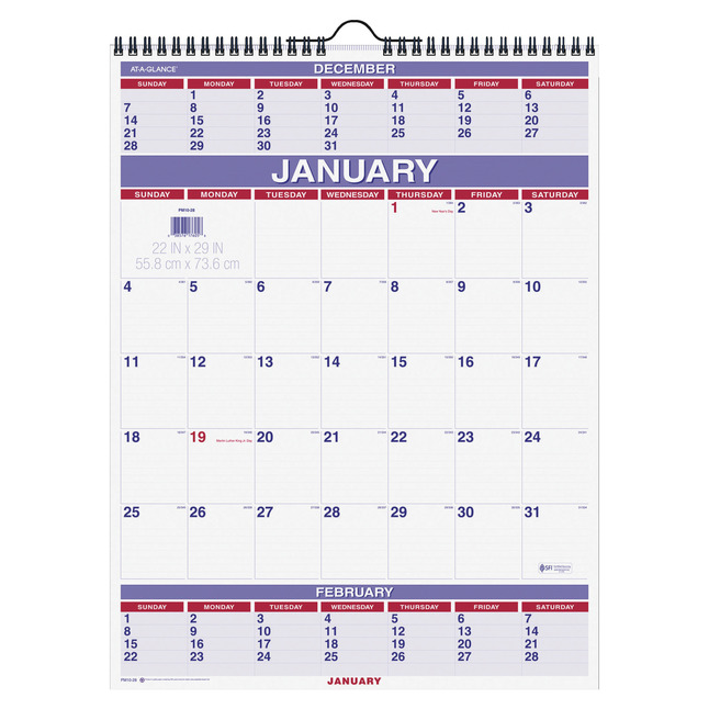 Daily Planner and Calendars, Item Number 1307855
