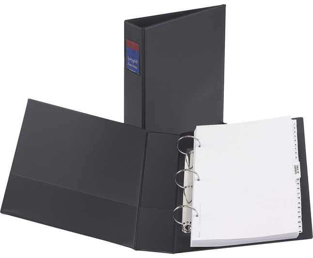 Basic Round Ring Reference Binders, Item Number 1308164