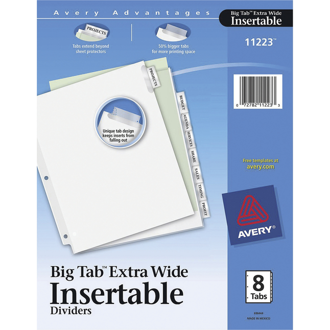 Tab Dividers, Item Number 1308200