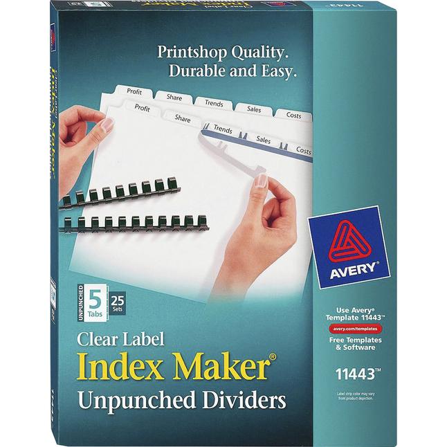 Tab Dividers, Item Number 1308211