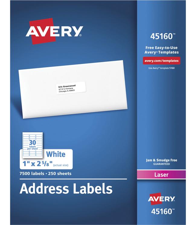 Address Labels, Item Number 1308255