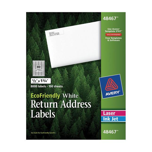 Address Labels, Item Number 1308265