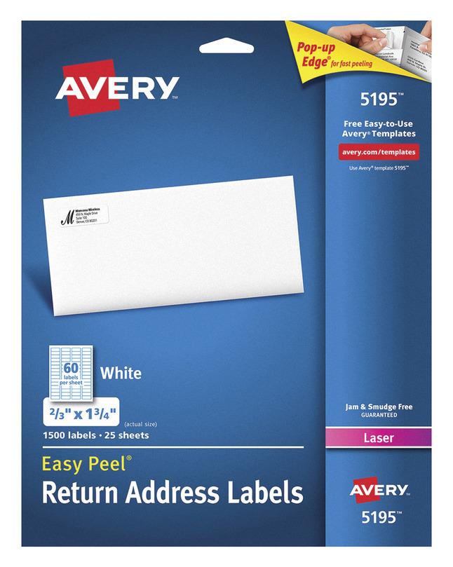 Address Labels, Item Number 1308283