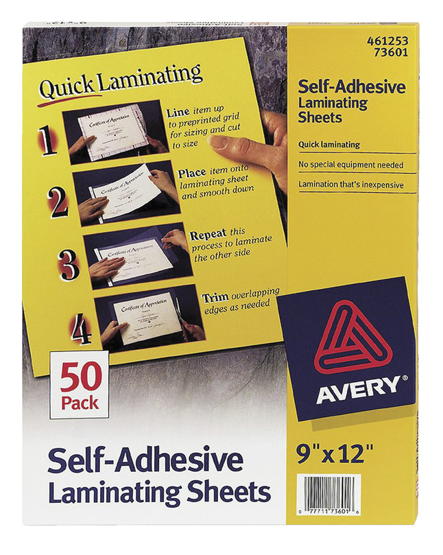Laminating Pouches, Item Number 1308290