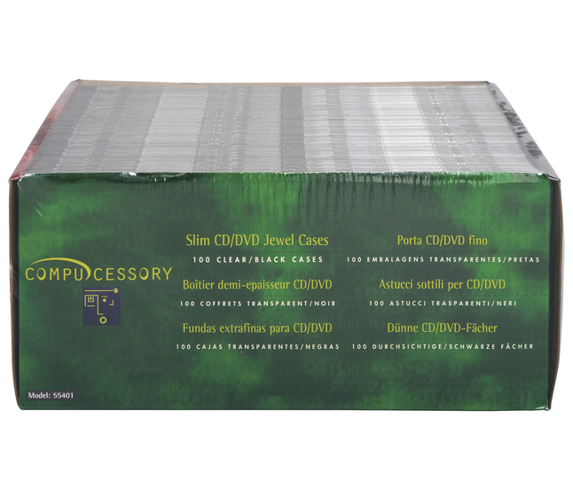 CD Cases, DVD Cases Supplies, Item Number 1309031