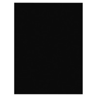 Nature Saver Multi-Purpose Acid-Free Heavyweight Smooth Textured Construction Paper, 9 x 12 Inches, Black, Pack of 50 Item Number 1312160